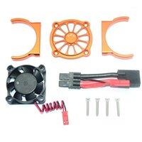 Control remoto Piezas de automóviles Fan de refrigeración del motor para 1/10 TRAXXAS E REVO 2.0 RC Pieza de coche Accesorios de varios colores1