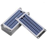 Purificatori d'aria 10 pz 7G / h Piastra ozono Portatile Generatore per uso domestico integrato Accessori ceramici1
