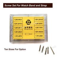 金属腕時計バンド50ピース10サイズのステンレス鋼修理ツール腕時計部品8.5mm  -  26mm