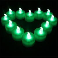 رخيصة led الإلكترونية شمعة ضوء الإبداعية الزفاف عيد الميلاد عيد ميلاد الشمعة مخاوف الدعائم زينة زر أدى ضوء الشاي الصغيرة