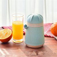 Prafi de blé pratique Juilleurs à la main manuelle Juicer Machine Machine bleu citron Fruits de citron Pressing Tool Gadget Nouvelle arrivée 12DM E19