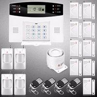 أنظمة الإنذار YobangSecurity الروسية الإسبانية Cezch الايطالية صوت المنزل اللاسلكية gsm الأمن نظام الباب نافذة pir sensor1