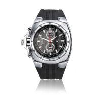 V6 Heren Siliconen Leisure Travel PC21 Quartz Movement Watch 0048