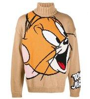 GCD популярные логотипы пары свитер Том и Джерри горячий стиль в сток мужчина женщина осенью и зимой тепло