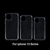 Temizle Sert PC Telefon Kılıfları Için iPhone 12 Pro Max 12Pro 12max Sert PC Plastik Parlak Temizle Telefon Kapak iphone12
