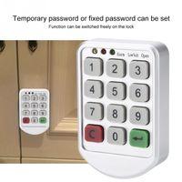 Smart Lock ABS Panneau en plastique numérique électronique Numérique de mot de passe intelligent Numéro de clavier Code de porte FECHADURA LOCK1