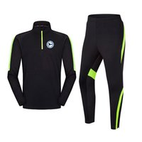 Yeni Arminia Bielefeld Ceket Pantolon Yetişkin Çocuklar Eğitim Eşofman Kış Uzun Kollu Sportwear Futbol Seti Çocuk Spor