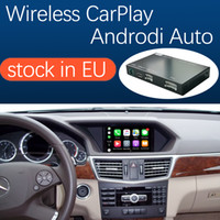 Беспроводной интерфейс Carplay для Mercedes Benz E-Class W212 E Coupe C207 2011-2015, с Android Auto Morker Link Airplay Car Play