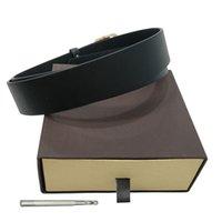 حزام حزام حزام أحزمة أزياء الرجال جلد أسود أحزمة سوداء النساء الذهب كبير مشبك عارضة ceinture مع مربع البني توفير الاجتماعي 105-120 سنتيمتر