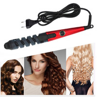 Professional Curler Curler Roller Magic Spiral Curolling Iron Fast Curling Wand Electric Hair Styled Pro Styling Tool