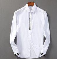 2020 العلامة التجارية للرجال الأعمال قميص عارضة طويلة الأكمام الرجال مخطط يتأهل الغمد الاجتماعية الذكور تي شيرت جديد رجل الأزياء فحص قميص Q9