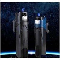 SUNSUN 500L / H 800L / H 수족관 물고기 탱크 잠수정 필터 펌프 조류 클리너 자외선 클레어 리퍼 UV 스틸즈 QYLUUS HOMES2011