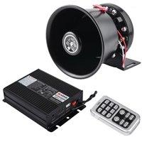 سوبر بصوت عال klaxon horn 200w pa الأسود المتكلم megaphone نظام السماعة الإلكترونية 12 فولت ل سيارة القرن siren1