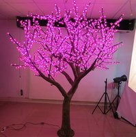 Outdoor Waterproof Artificial 3M Led Cherry Blossom Tree Lam...