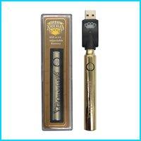 Knuckles en laiton Préchauffez les kits de batterie Préchauffez-vous Kit de démarrage CO2 Huile Vaporisateur Pen 510 Vape Stylo Vaporisateur 650 / 900mAh Batteries pour cartouche