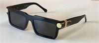 Мода дизайн солнцезащитные очки Z1403 Небольшая квадратная защита кадров Avant-Garde UV400 на открытом воздухе Очки высочайшее качество с корпусом