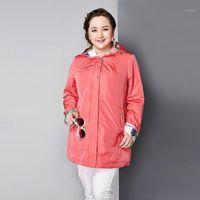 Casacos de Trench das Mulheres Astrid 2021 Jaquetas Femininas da Primavera e elegante casaco curto Europeu estilo AY-16701
