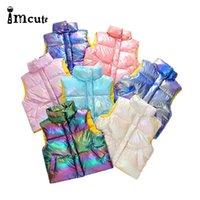 Imbute Kinder Winter Kinder Warme Kleidung Baumwolle Baby Jungen für Mädchen Weste Jacke LJ201130