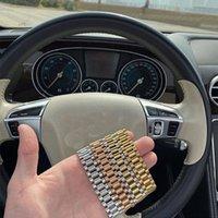 Bracelet de chaîne cubaine de 15 mm de large hommes Chaînes Hop Hop Link Bangles Punk Titane Steel Bandband Bracelets pour hommes Vintage Bijoux Accessoires