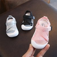 Летние младенческие туфли для малышей Baby Girls Boys Made Modyler Shoes нескользящая дышащая высокое качество детей антиколансированная обувь LJ201214