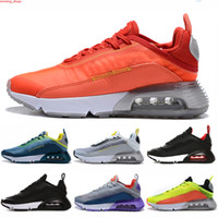 New Cheap Outdoor 2090 women men shoes brushstroke triple bl...