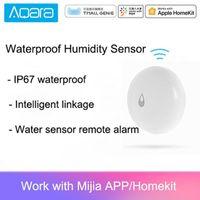 الأصلي AQARA IP67 ماء الرطوبة الاستشعار الذكية المنزل استشعار المياه عن بعد إنذار التطبيق تحكم 1