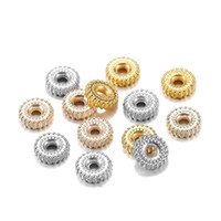 200pcs Lot Gold Rhodium Ccb Plastic Charm Bracelet Beads Fin...