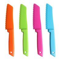 Per lattuga per pane lattuga coltello da cucina bambini chef cucinando coltelli da frutto in plastica bambini cassaforte bambini figliante coltelli da sega taglierina ZC3344