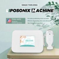 휴대용 Liposonix 미용 기계 슬림팅 기계 셀룰 라이트 감소 다운 타임 미용 장비 가정 2 년 보증
