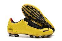 2021 رخيصة الرجال الأصلي إجمالي 90 الليزر i se fg أحذية كرة القدم الأسود الأصفر الرياضية الأزياء كرة القدم المرابط سريع الشحن