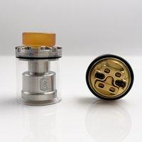 Runvape ricarica RTA 2ml e sigaretta Ni80 Wire Wicks vape 24mm serbatoio ricostruibile per vaporizzatore 510 filettatura mod