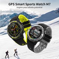 M7 الذكية ووتش 2020 ساعة ذكية GPS للرجال بوصلة مقياس الارتفاع النساء الرياضة في الهواء الطلق بلوتوث الاتصال الذكي الساعات الرجال