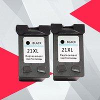 Inktcartridges 2BK Compatibel 21 22 XL Cartridge Vervanging voor 21XL 22XL Deskjet F2180 F2280 F4180 F380 380
