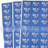 2020 Self Adhesive Gesichtsaufkleber 32 Stück US-Präsident Wahl Blau Biden Paster Rechteck Party im Freien 1LG G2
