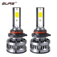 EURS H7 H4 Coche LED Bombillas M5 H1 H11 H3 3 9005 9006 4 50W 8000LM 6000K 4500K 12V AUTO MINI FARDLAMP COB FOG LIGHT1