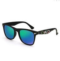 상어 위장 반사 방지 안티 UV 선글라스 남성 여성 복고풍 둥근 드라이브 여행 휴가 야외 비즈니스 쇼 컬러 렌즈 선글라스