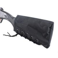 Buttstock Tactical Shell Holster Einstellbares Gewehr Wangenrestbeutel Tragbare Verstellbare Gewehre Shot Gun Holder Pack