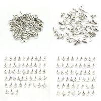Vintage Kaplama Gümüş Charms Sıcak Satış Alaşım Severler DIY Bilezik Takı Bileşenleri 52 Harfler Çanta Kolye 4LQ G2B