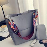 Nigedu Brand Designer Mujer Bolso Bolso Grande Capacidad Colorida Correa Hombro PU Cuchillo Cuchillo Crossbody Bolsos Ladies Big Totes C1223