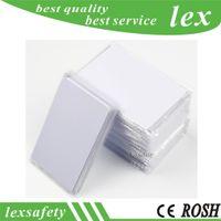 100pcs Proximité blanc 13,56 Icode Sli carte à puce imprimable Carte PVC RFID CR80 blanc ISO 15693 ICODE2 IC PVC carte Contactless