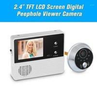 "Video-Door-Telefone 2.4 ""TFT LCD-Bildschirm Digitaler Peephol-Viewer-Kamera-Monitor Elektronische Überwachung für Home Security-Türbell1"