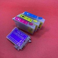 خراطيش الحبر Yotat Refill Cartridge T603XL T603 603XL T03A1-T03A4 ل XP-2100 XP-2105 XP-3100 XP-3100 XP-3105 XP-4100 XP-4105 WF-2810 2830