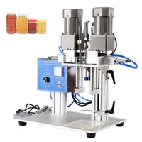 Pneumatic Desktop Automatic Capping Machine Spray Capping Machine Sanitizer Detergente Capping Machine Fabricantes Use