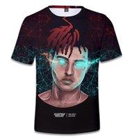 Rap Singer XXXTENTACION R.I.P 3D T Shirt dla mężczyzn Kobiety Lato O-Neck Krótki Rękaw Raper Koszulki Męskie Hip Hop Tee Koszula Homme Er