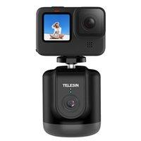 Telesin ذكي Selfie Shooting Gimbal 360 التتبع الوجه التلقائي للبطل 9/8/7/6/5 كاميرا الهاتف المحمول VLOG سجل YouTube