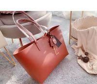 Pink Sugao Femmes Sacs à main Sac à bandoulière de sacs de concepteur 2020 sacs fourre-tout de mode 2pcs / Set Belle sac à main en cuir véritable grand sac fourre-tout S01