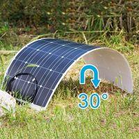 Completa il pannello solare del pannello solare 18 V 360W completo di griglia 12V / 24V Caricabatterie solare del pannello flessibile per il campeggio RVS