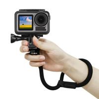Güvenlik El Kayışı Naylon Tel Kordon Sling DJI Spor Kamera Aksesuarları için El Kemer Adaptörü