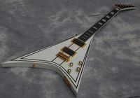 جودة الغيتار الكهربائي راندي رودز الطائر V الغيتار، الأصابع خشب الأبنوس