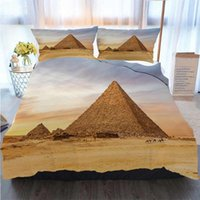 Bedding 3 Piece Duvet Cover Sets Famous Pyramid Of Menkaure ...